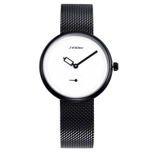 SINOBI moda casual reloj 3ATM resistente al agua reloj de cuarzo mujeres reloj Mujer