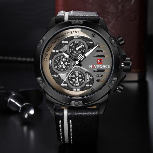 NAVIFORCE 9110 Fashion Casual Quartz Watch