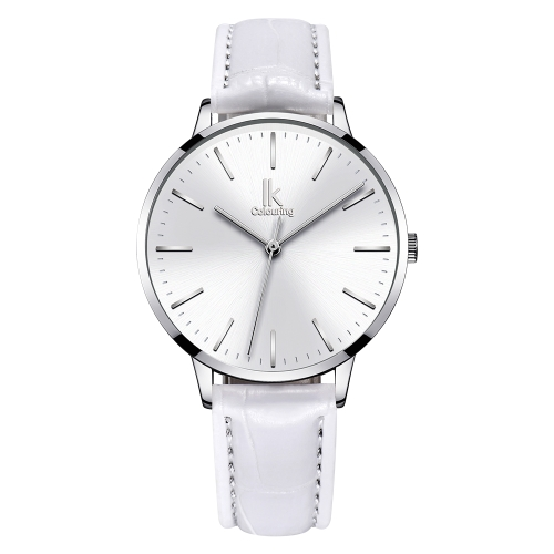 IK Coloring Fashion Women Relojes Cuarzo 1ATM resistente al agua Casual mujer reloj de pulsera