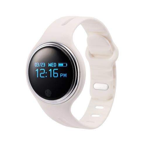 BT4.0 Smart Watch Band IP67 Deportes a prueba de agua al aire libre GPS Podómetro Alarma Control remoto Compatible con IOS y Android