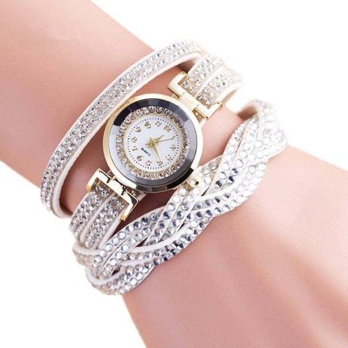 Reloj de pulsera de cuarzo de lujo Fashion Women