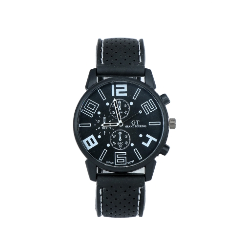 Relojes de moda de silicona hombres de cuarzo Casual hombre reloj masculino Relogio Musculino