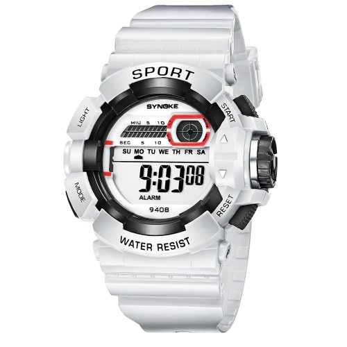 SYNOKE Students Children Sport Watches 3ATM Life Water-resistant Digital Backlight Child Kids Boy Girls Wristwatch Alarm Stopwatch