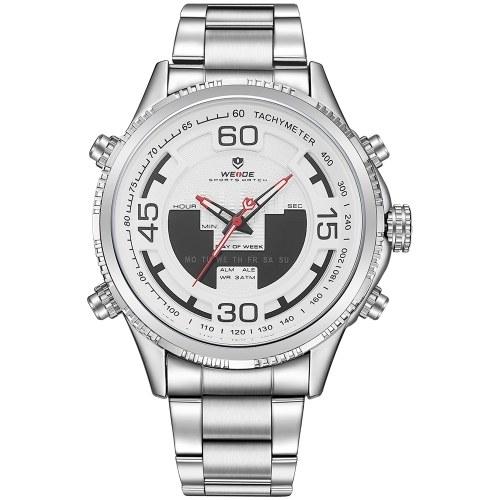 WEIDE WH6306 Кварцевые цифровые электронные часы фото