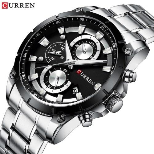 CURREN 8360 orologio da uomo al quarzo classico di lusso