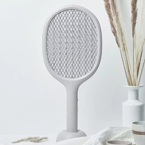 Xiaomi Electric Mosquito Swatter Mosquito Killer Bat with Charging Base Mosquito-killing Lamp 2000mAh Rechargeable Battery