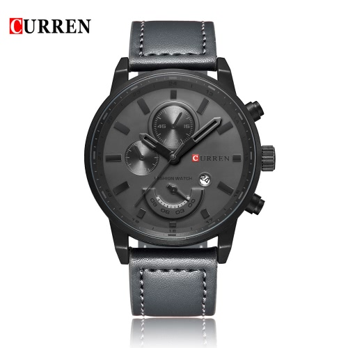 CURREN 8217 Fashion Quartz Men Watch