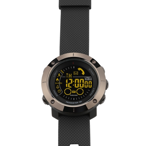 Sport Smart Watch FSTN Display BT 4.0 Fitness Rastreador Podómetro Cronómetro Reloj de pulsera inteligente para iOS 7.0 y Android 4.3