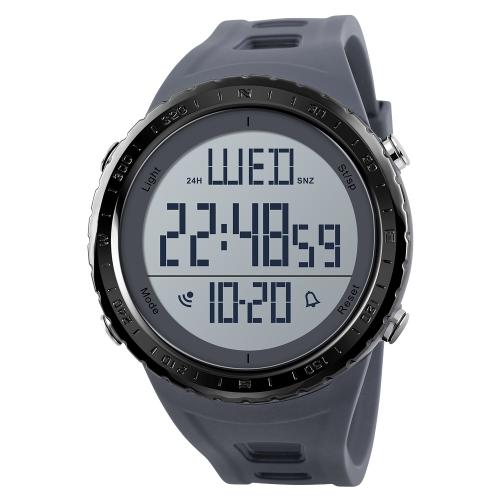 SKMEI Sport Reloj digital 5ATM resistente al agua Unisex Relojes Reloj de pulsera con luz de fondo Hora / Semana / Alarma / Fecha / Crono para niños