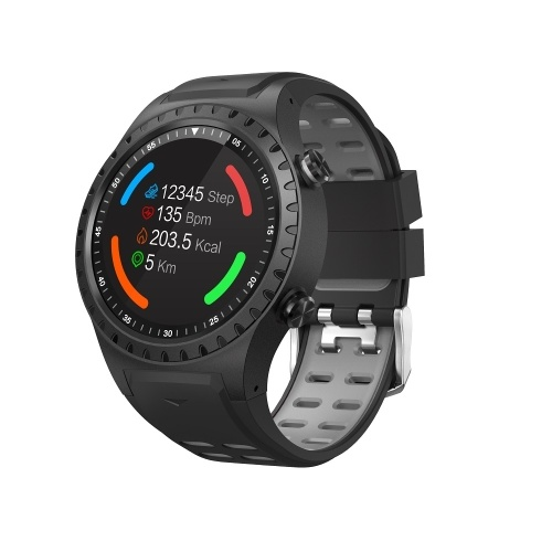 SMA-M1 Smart Watch 1.3'' IPS Full Round Screen Smart Bracelet