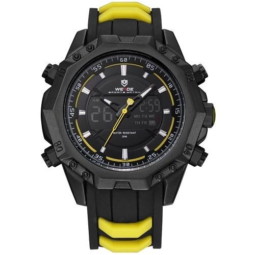 WEIDE WH6406 Quarz Digitale elektronische Uhr