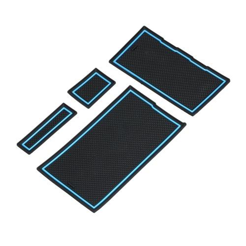 Reposabrazos del coche Caja de almacenamiento Consola central Organizador Contenedores Caja de soporte para Tesla Modelo 3