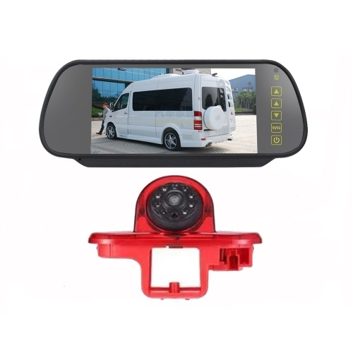 HD IR Nachtsicht 3. Bremslicht Rückfahrkamera Wasserdichte Rückfahrkamera + 7,0 Zoll Rückfahrkamera