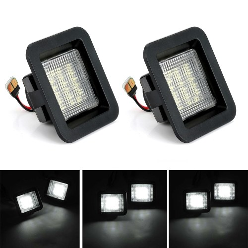 LED License Plate Light Lamp 6000-6500K Replacement for Ford F1502015 to 2018 , 2017 2018 F150 Raptor, , Pack of 2
