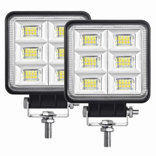 2 шт. Светодиодный прожектор рабочий свет 4 дюйма 144 Вт светодиодный внедорожник свет прожектор противотуманный свет фара дальнего света для внедорожного грузовика внедорожник квадроцикл
