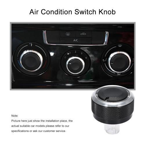 Air Condition Panel Control Switch Knob for VW Golf Jetta Mk5 Passat B6