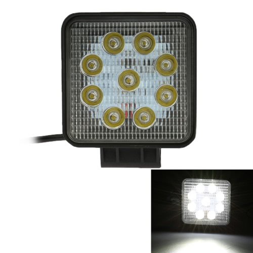 KKmoon 27W LED Car Work Light Bar 5,5 Inch 2025LM ponto de feixe de Jeep 4x4 Offroad ATV Truck SUV 12V 24V