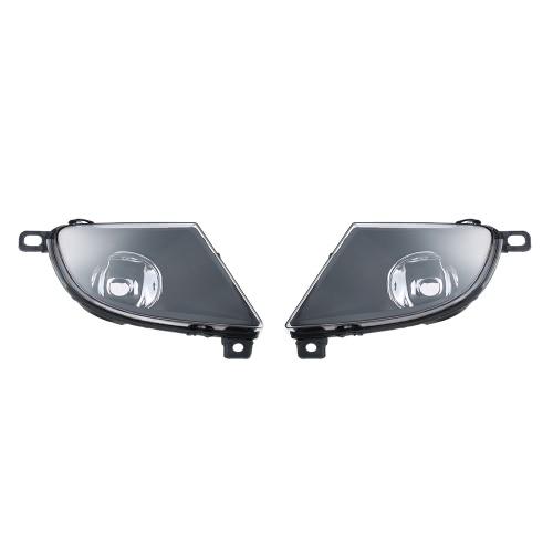 1 пара левый и правый передний Противотуманные фары абажур лампы крышки Набор для BMW 5 серии E60 2008-2015