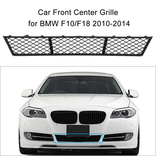Car Front Lower Bumper Center Grille for BMW F10/F18 2010-2014