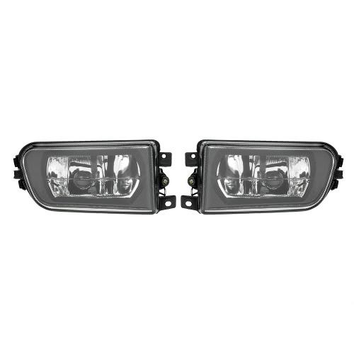 1 paire gauche et droite avant brouillard H7 Base de lumière sans ampoules Kit de remplacement pour BMW E39 1995-1999