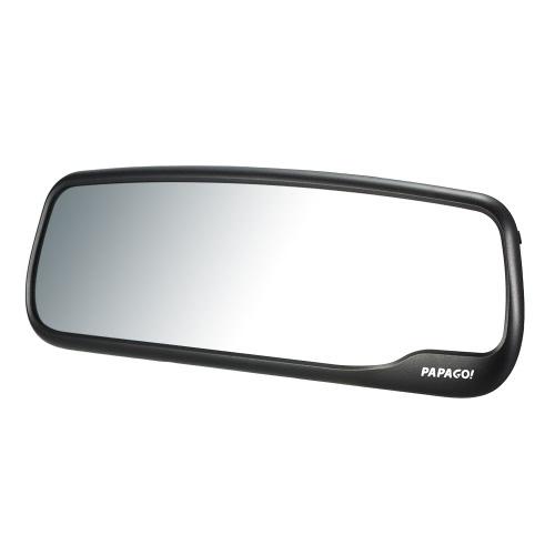 PAPAGO M20 Car DVR Novatek 96655 1080P 2.7 Écran Rétroviseur angle 135 degrés Enregistreur vidéo