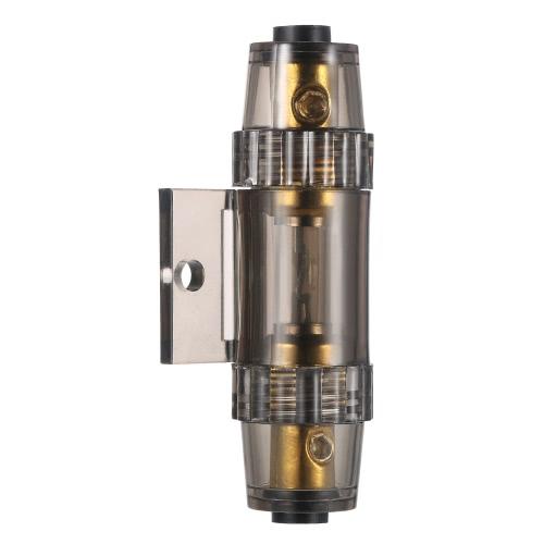 IMC Audio 60 Amp Inline AGU Fuse Holder Fits 4 8 10 Gauge Wire gray K5480