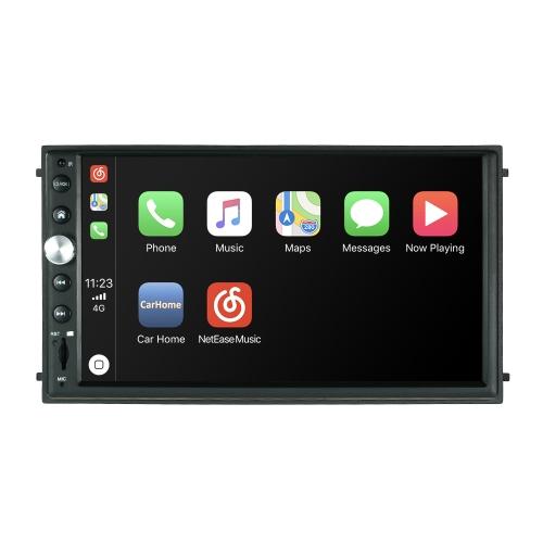 7-calowy odtwarzacz HD Double Din HD Audio Video Touchscreen Nawigacja GPS z funkcją głosową Siri Artificial Intelligence