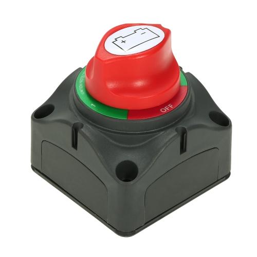 12V/24V Battery Switch Isolator Marine Car RV Boat Switch 4 Position 300 Amp US K6000