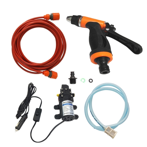 12V Car Wash Washing Machine Cleaning Electric Pump Pressure Washer Device Tool