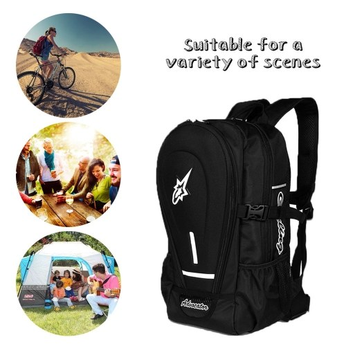 Outdoor Universal Waterproof Travel Sholder Bags Motorcycle Bags Poratble Large Capacity Students Backpack