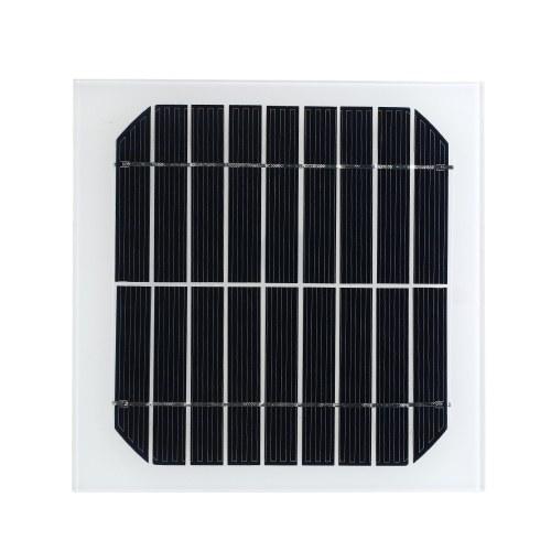 9V 3.5W Солнечные панели Поликристаллическая кремниевая батарея на солнечной батарее для автомобилей