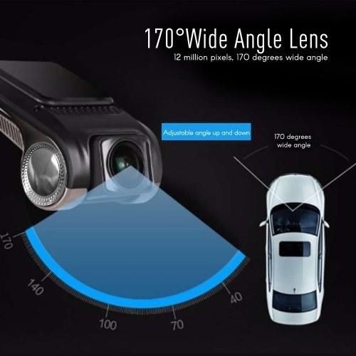 1080P FHD Car DVR Camera Video Recorder with WiFi ADAS G-sensor