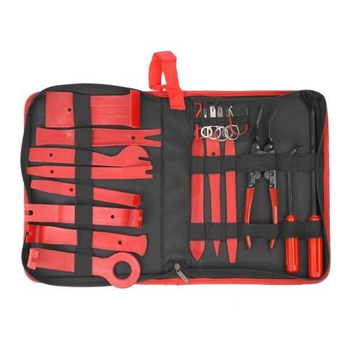 22 stücke Auto Auto Audio Radio DIY Pc Demolition Installation Stemmwerkzeug Reparatur Handwerkzeuge Kit