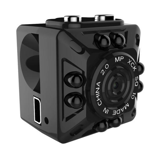 Quelima SQ10 Mini cámara Full HD grabadora de DVR para coche