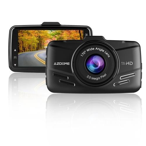 AZDOME M01 3 polegadas Dash Cam DVR Recorder