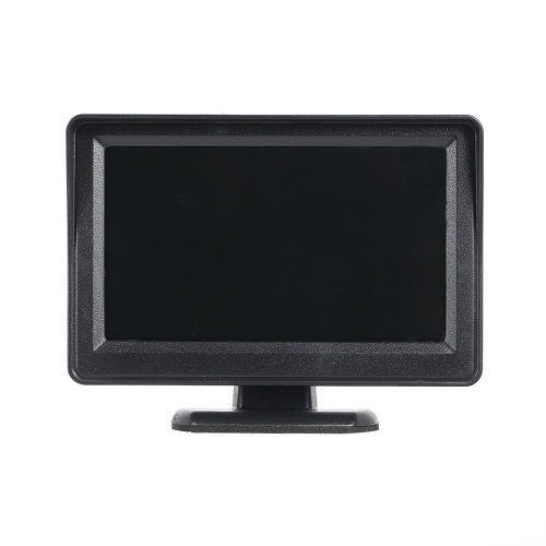 4.3 Inches 480 * 272 Car Monitor TFT LCD Color Display Car Rear View Monitor Screen with 2 AV Input for Car Rear View Cameras Auto Parking Backup Reverse Monitor System