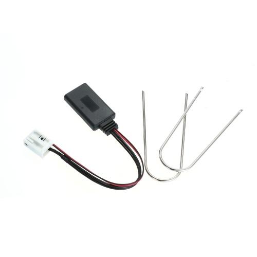 Автомобильный AUX-IN Аудио Адаптер 12Pin Беспроводной BT Модуль Стерео Радио, совместимый с Peugeot 207 307 407 308 Citroen C2 C3 RD4