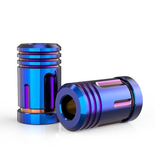 2pcs tampa da haste da válvula do pneu universal tampas tampa da válvula de pressão de ar roda de carro criativo cap