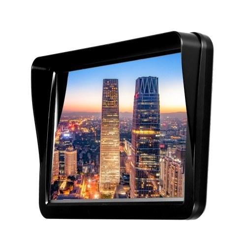 """9 """"HD сенсорный экран Портативный GPS-навигатор Планшетный GPS-навигатор 8 ГБ 256 МБ Автомобильный стерео-аудиоплеер Мультимедийная развлекательная система с поддержкой на задней панели + бесплатная карта фото"""