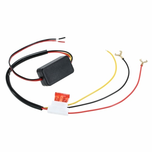 Car LED Daytime Running Light Automatic ON/OFF Switch Controller 12V DRL Relay