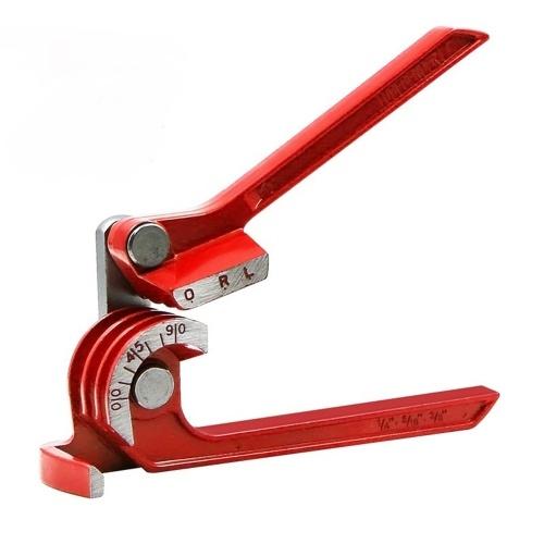 "Alicates curvos para doblar tubos de 90 ° de servicio pesado 3 EN 1 para doblar tubos de 1/4 ""(6.35 mm) 5/16"" (7.9 mm) 3/8 ""(9.5 mm)"