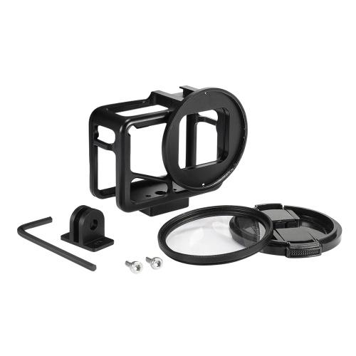 Caja de aleación de aluminio para Gopro Hear 5/6/7, caja protectora, carcasa, carcasa, protector de cámara