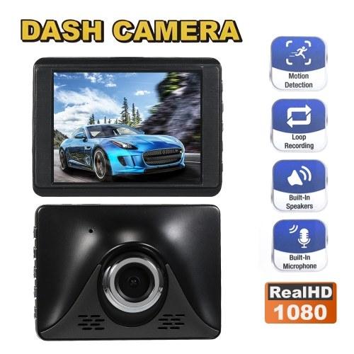 1080P Driving Recorder Car Blackbox DVR Dash Camera 170° Wide-angle Full HD Recording Night Vision Wide Angle Dashcam Video Registrar