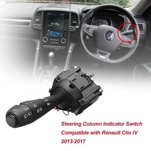 Подрулевой переключатель индикатора рулевой колонки, совместимый с Renault Clio IV 2013-2017