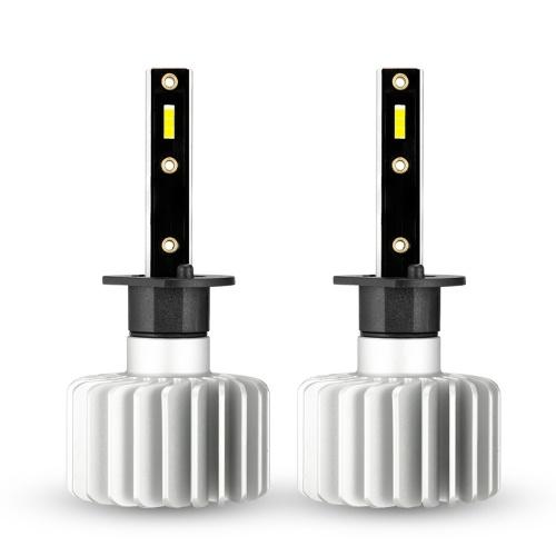 NOVSIGHT Auto LED Nebelscheinwerfer 3500LM / Glühlampe Scheinwerferlampen Kit 6000K Weiß Lauflicht 20W / Lampe, Novsight H1, HID Decoder Nebelscheinwerfer, IP68 Wasserdicht