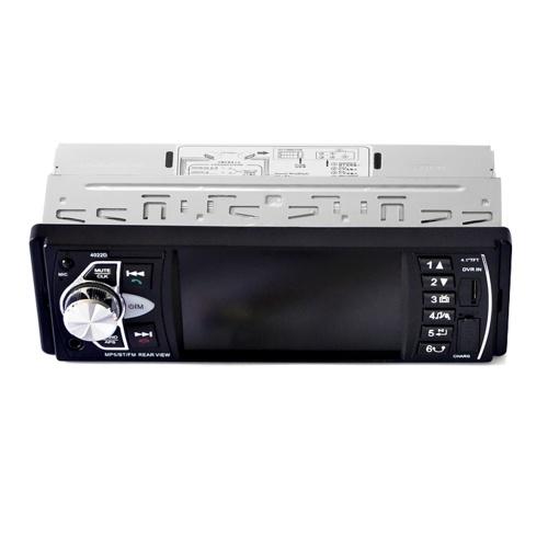 Car High Definition 4.1-inch BT MP5 Player Reversing Priority FM Radio Card Insertion Machine Car Radio Car Stereo