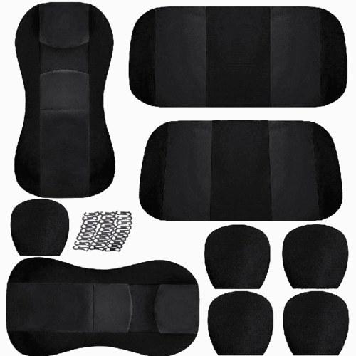 Универсальный чехол для автомобильного сиденья Авто Защитные пленки для внутренней отделки Полный объемный подголовник и чехол для спинки сиденья автомобиля, грузовика, внедорожника, фургона