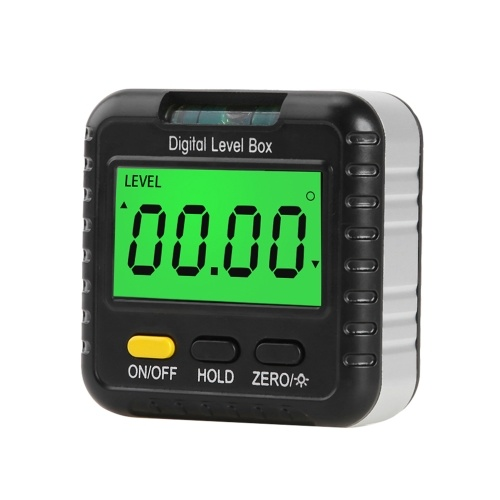 デジタル角度ファインダーゲージ360度ミニデジタル分度器傾斜計