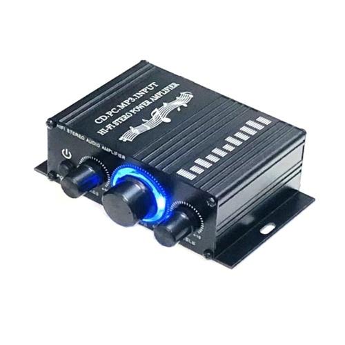 Мини-усилитель Hi-Fi автомобильный стерео музыкальный приемник FM MP3 усилитель мощности