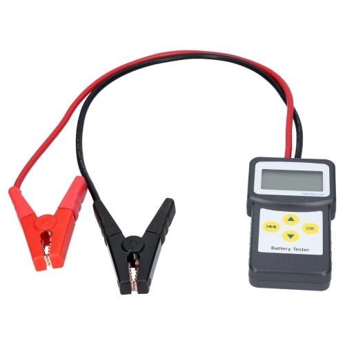100-2000 CCA 200AH Probador de batería de carga automotriz Analizador digital de conductividad de la batería Tseter Herramienta de escaneo de prueba de sistema de carga y arranque automático